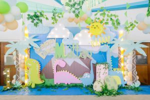 Matteo's Colorful Baby Dino Themed Party – 1st Birthday