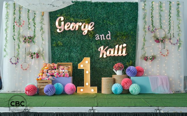 George and Kalli's Adorable Pumpkin Patch Kids Themed Party – 1st Birthday