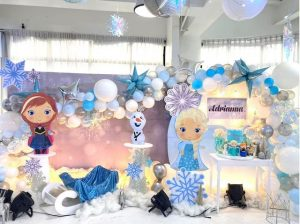 Adrianna's Frozen Themed Party – 1st Birthday