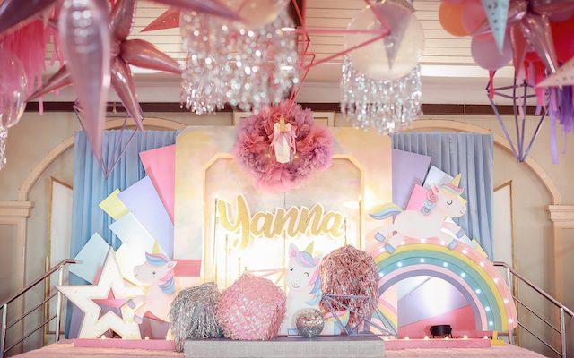 Yanna's Magical Unicorn Theme Party – 7th Birthday